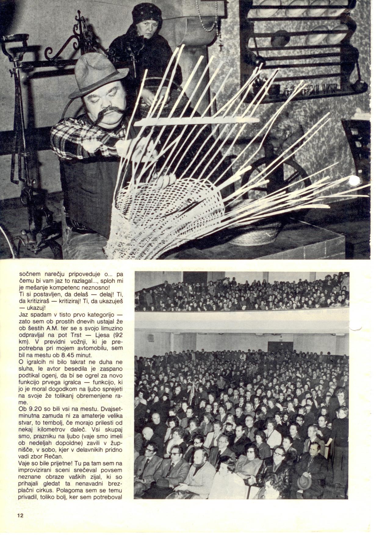 1976 - Beneska Ojcet - Dom članek 2