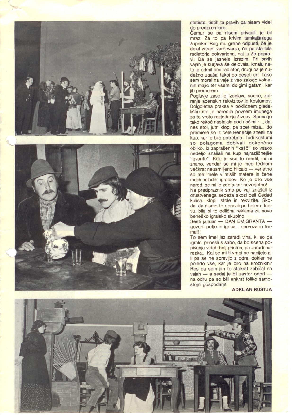 1976 - Beneska Ojcet - Dom članek 3