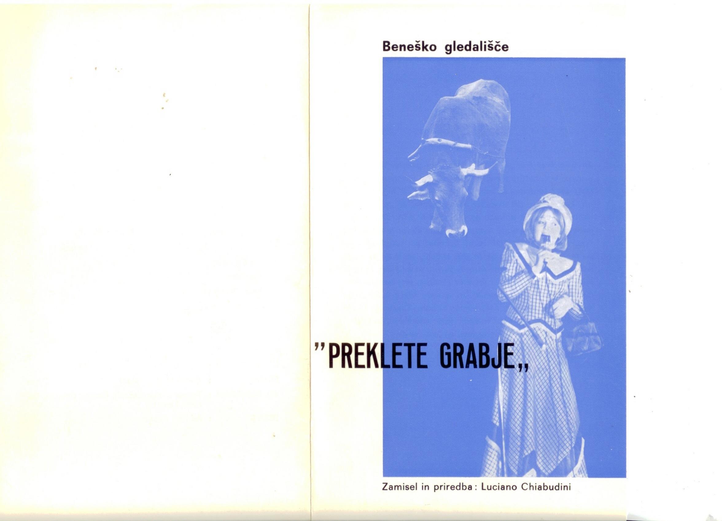 1984 - Preklete grabje - Foglio sala 1