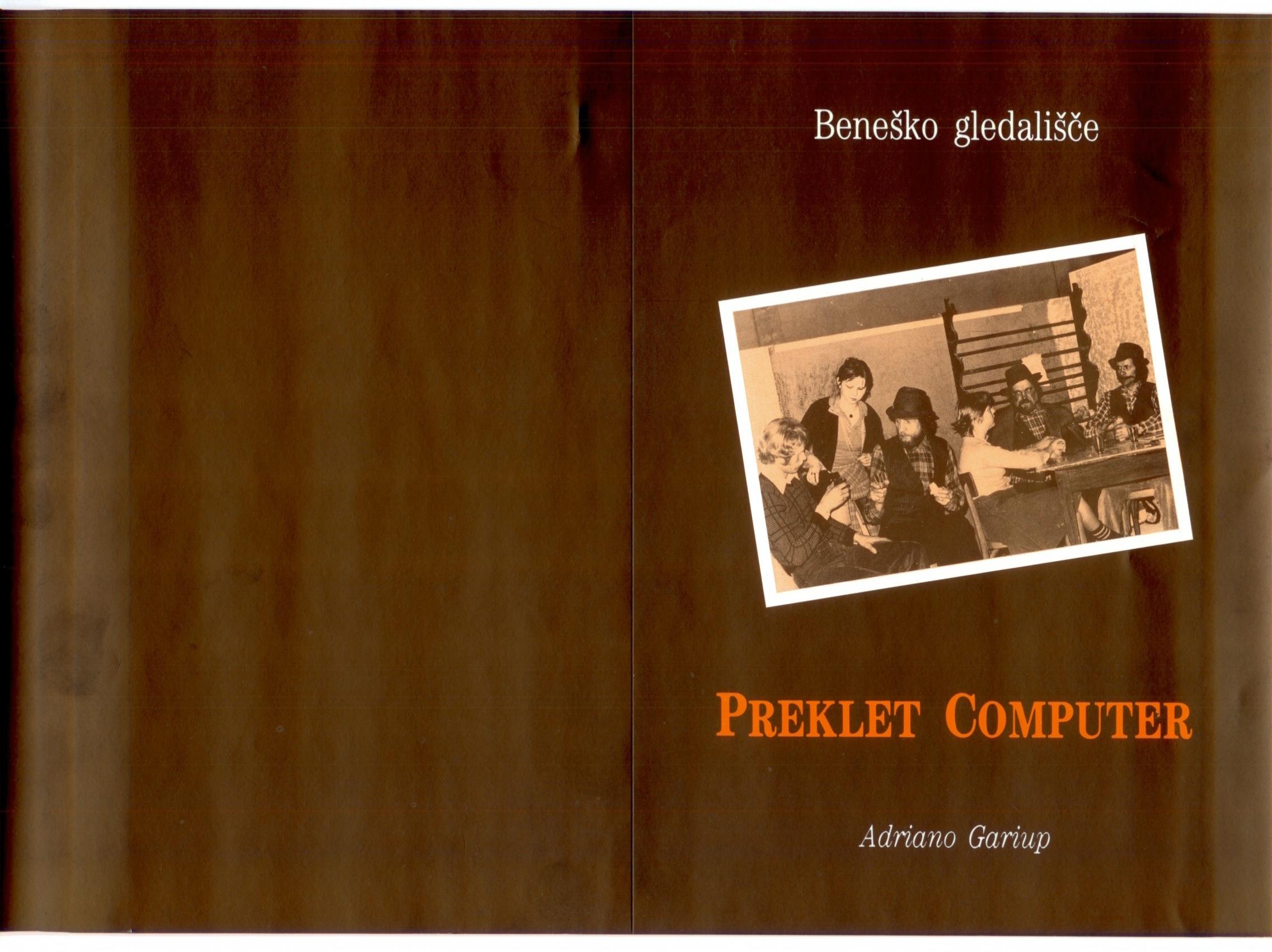 1989 - Preklet Komputer - Foglio sala 1