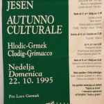 kulturna jesen 95