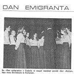 zbor recan 1975 dan emigranta