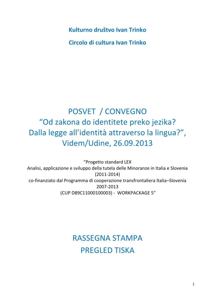 rassegna stampa posvet LEX Trinko_Udine1